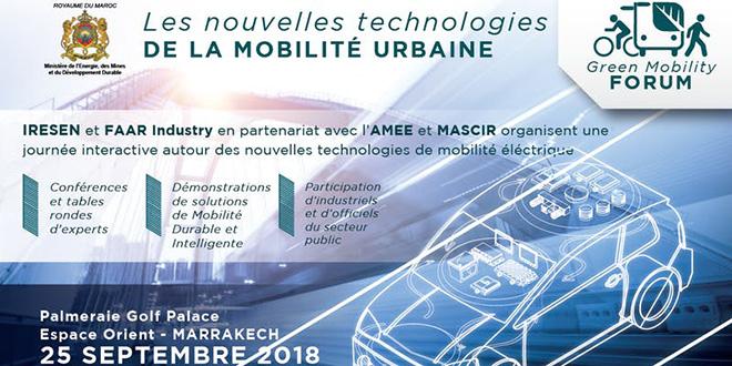 """Le """"Green Mobility Forum"""" à Marrakech"""