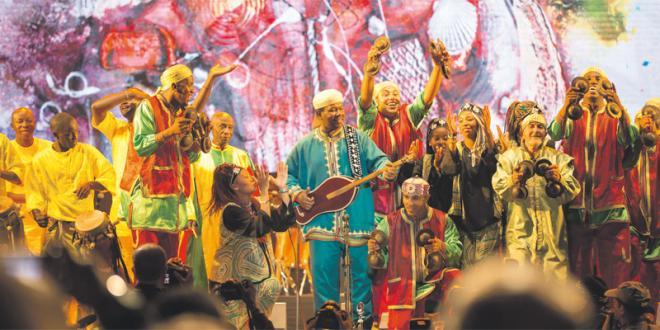 Gnaoua dans la liste du patrimoine immatériel de l'UNESCO