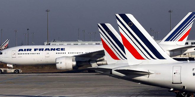 Air France : Grosse chute en bourse