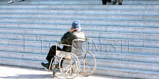 Handicap : La majorité des personnes à incapacité totale sans instruction