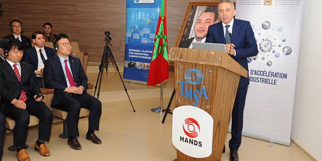 Tanger : Hands Corporation démarre la construction de son usine