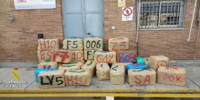 2,4 tonnes de haschich saisies dans le détroit de Gibraltar