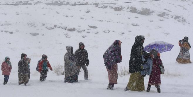 ALERTE/ Enclavement et tempêtes de neige dans le Haut-Atlas central
