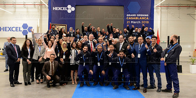 DIAPO-Aéronautique : Hexcel inaugure une usine à Casablanca