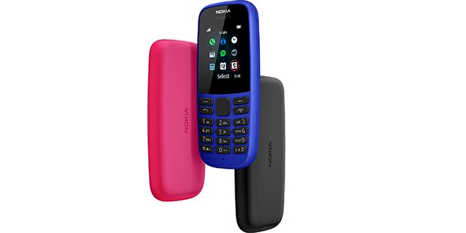 Le nouveau Nokia 105 bientôt sur le marché
