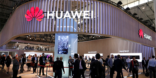 Huawei: Baisse du CA trimestriel