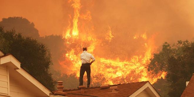 Incendies en Californie: 1 milliard de dollars de dégâts