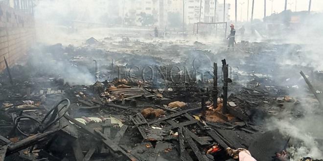 Casablanca/ Ouled Ziane : Le camp des migrants brûle encore