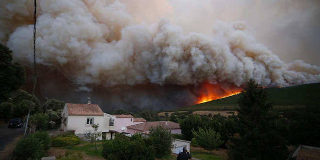 Incendies en Corse : 2.000 hectares détruits