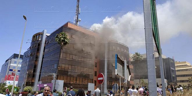 Inwi prend feu à Casablanca (