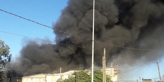 Casablanca : Violent incendie dans une usine