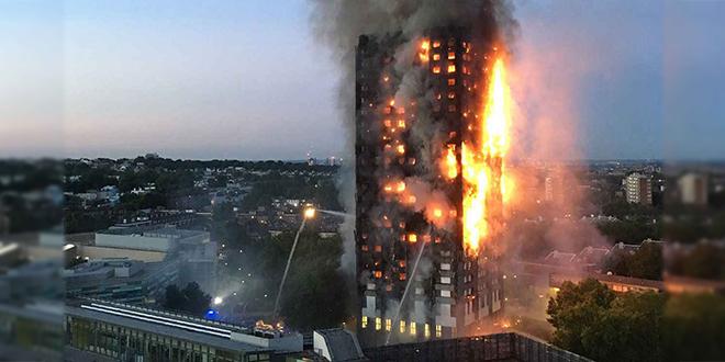 Incendie de Londres : Le bilan s'alourdit