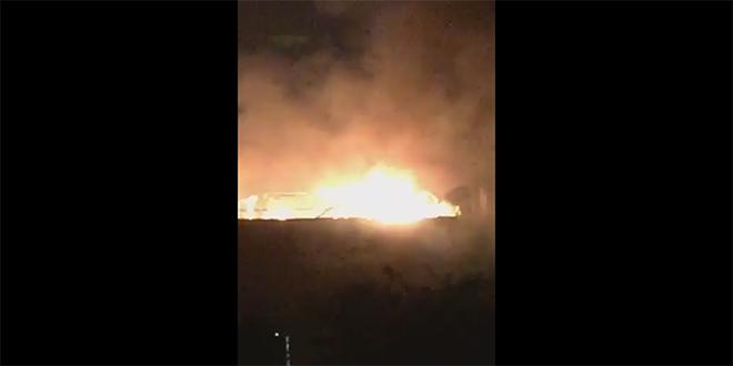 Marrakech : Un incendie s'est déclaré à Agdal