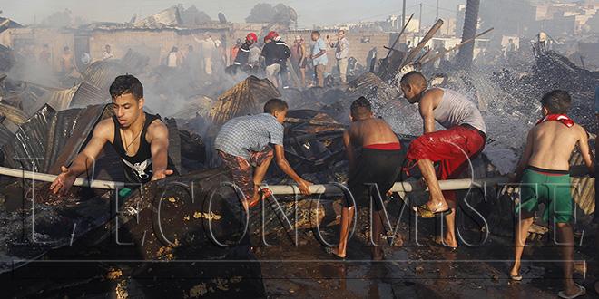 Incendie dans un marché à Inezgane