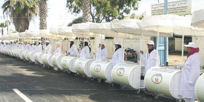INDH : 22 millions de DH pour Khouribga