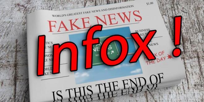Désormais c'est ''Infox'' et non ''fake news''