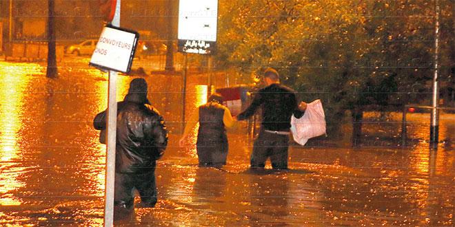 """Pluies torrentielles: """"Les réclamations traitées au cas par cas"""""""