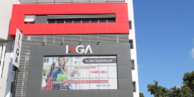 ISGA: 100% des cours déployés en ligne