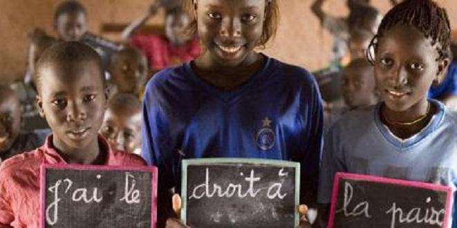 Journée mondiale de l'enfance : Les jeunes africains exposent leur vision