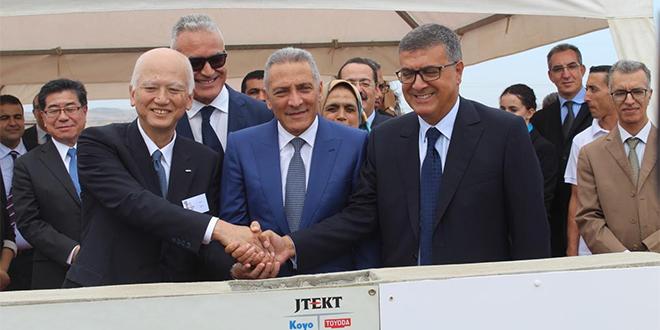 Tanger : Jtekt lance les travaux de sa première usine