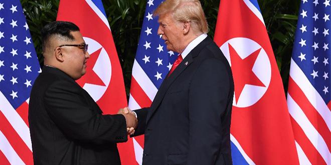 """Kim Jong Un dit avoir une relation """"particulière"""" avec Trump"""