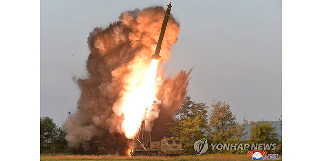 Test réussi de lanceurs de roquettes pour la Corée du Nord