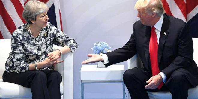 Au Royaume-Uni, Trump va rencontrer May et la reine