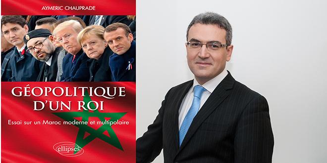 Aymeric Chauprade publie un livre pour les 20 ans de règne de Mohammed VI