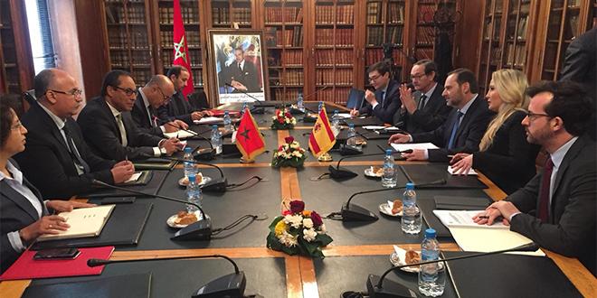 Visite du ministre du Développement espagnol