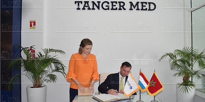 TangerMed : Les hommes d'affaires du Luxembourg en visite