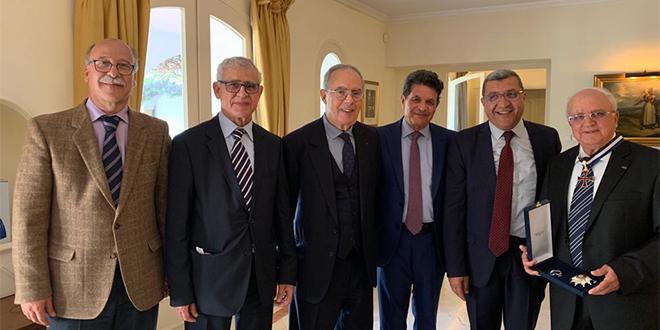 Nouvelle consécration pour Abdelhamid Benmakhlouf