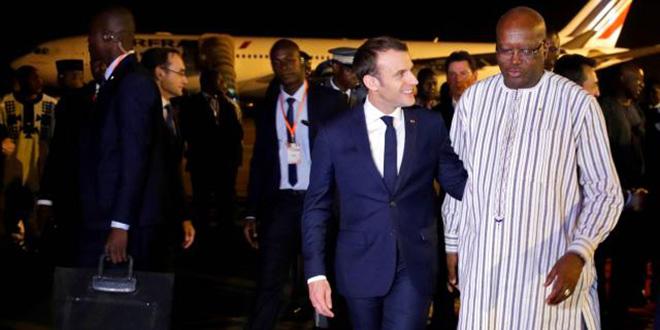 Burkina Faso : Tir de grenade contre des soldats français