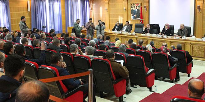 Tanger : Retour au calme lors des sessions de la Mairie
