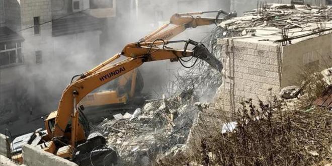Maisons palestiniennes démolies : L'UE critique Israël