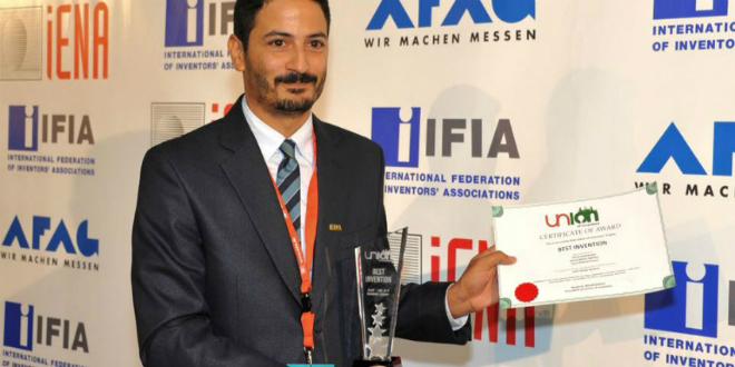 Invention : De nouveaux prix pour Majid El Bouazzaoui