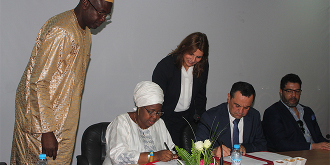 Universiapolis d'Agadir signe avec le Mali