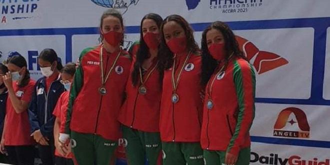 Championnats d'Afrique de natation: Le Maroc termine 3e