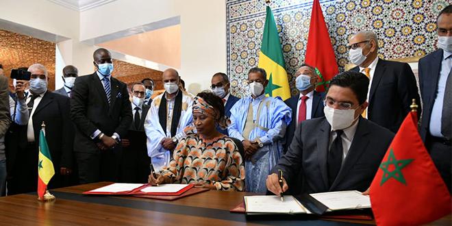 Maroc-Sénégal: Deux accords signés à Dakhla