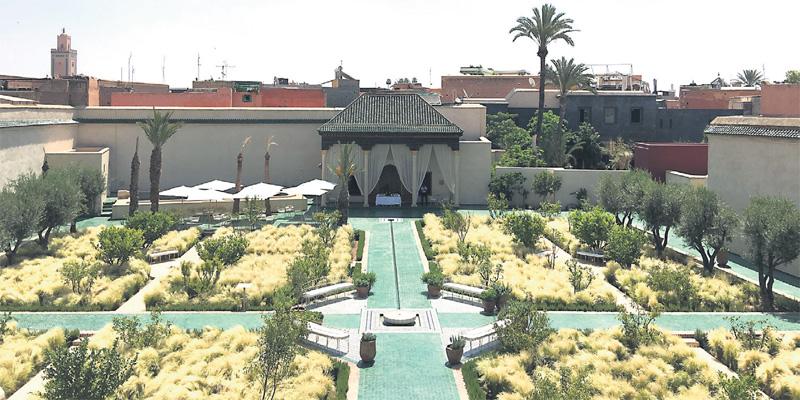 Marrakech le jardin secret se d voile l 39 economiste - Les jardins de l agdal marrakech ...