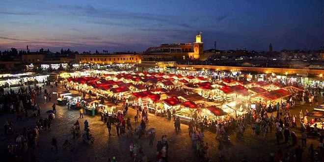 Tourisme-Marrakech : hausse de 12% des nuitées en octobre