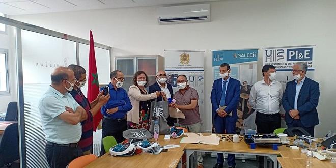 Covid-19: Des lots de masques transformés en respirateurs remis aux hôpitaux