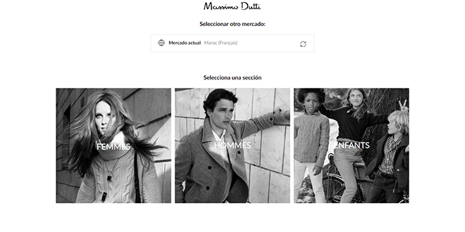 E-Shopping: Massimo Dutti lance sa boutique en ligne