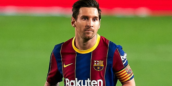 Le FC Barcelone annonce le départ de Messi