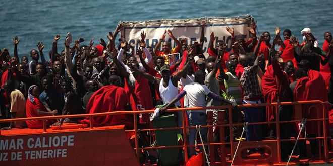 Près de 200 migrants secourus au large des côtes espagnoles