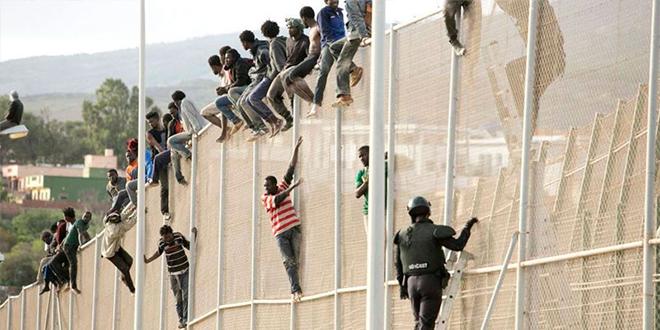 Melilia : Plus de 2.500 migrants interceptés en février