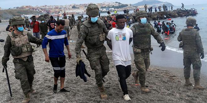 Sebta: L'Espagne a renvoyé au Maroc 2.700 migrants