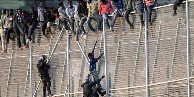 Melilia : Nouvel assaut des migrants