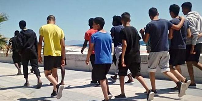 Espagne: Les arrivées par la mer de migrants mineurs en forte baisse