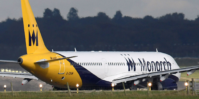 Monarch Airlines définitivement clouée au sol