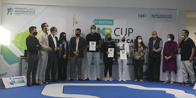 """Université Mundiapolis: L'Ecole d'Ingénieurs se distingue au """"NXP Cup EMEA"""""""